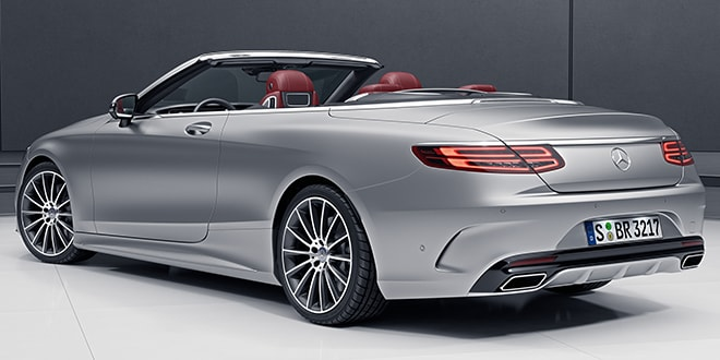 Mercedes-Benz S-Class Convertible hire – Sixt Sports & Luxury Cars